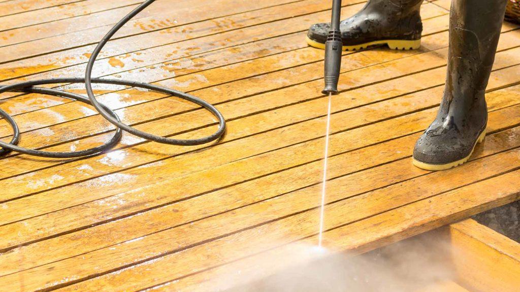 deck stripping services